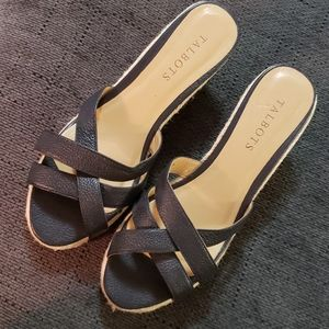 Talbots Black Sandals